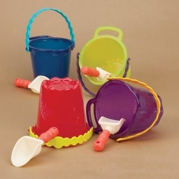 Набор для песочницы Battat Ведерко и лопатка, фиолетовый Battat