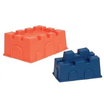 battat Набор для песочницы Battat Построй замок (2 пасочки-замка, алый и синий) BX1337Z