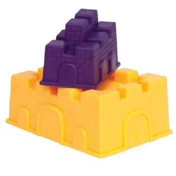 Купить:  Набор для песочницы Battat  Построй замок (2 пасочки-замка, желтый и фиолетовый) Battat