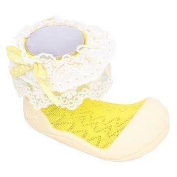 attipas Текстильная обувь Attipas Lady, р.21,5 (116-125 мм), желтые AW01-Yellow-21.5