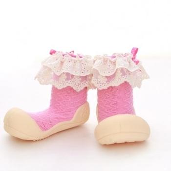 attipas Текстильная обувь Attipas Lady, р.21,5 (116-125 мм), розовые AW02-Pink-21.5
