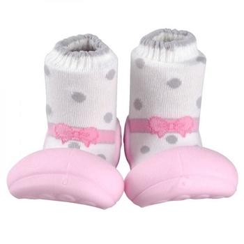 attipas Текстильная обувь Attipas Ballet, р.21,5 (116-125 мм), розовые AB02-Pink-21.5