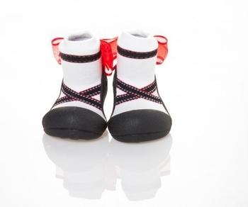 attipas Текстильная обувь Attipas Ballet, р.21,5 (116-125 мм), черные AB02-Black-21.5
