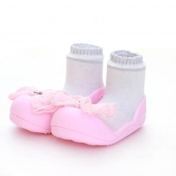 attipas Текстильная обувь Attipas Crystal, р.21,5 (116-125 мм), розовые AQ01-Pink-21.5