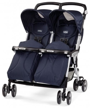 Коляска Peg-Perego Aria Twin RO51-NM41, синяя