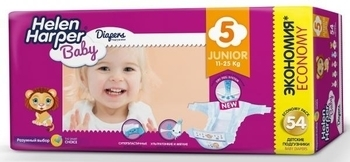 Подгузники Helen Harper Baby Junior 5 (11-25 кг) 54 шт.