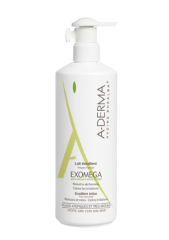 a-derma Молочко для атопической кожи A-Derma Exomega, 400 мл 12146
