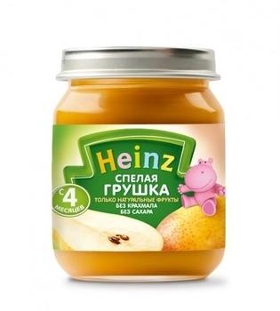 Пюре Heinz Спелая грушка, 80 г Heinz