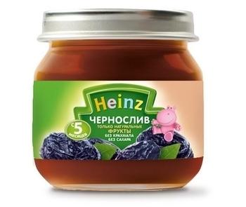 Пюре Heinz чернослив, 80 г Heinz