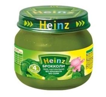 Пюре Heinz брокколи, 80 г Heinz