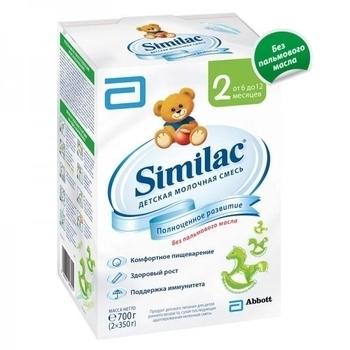 Сухая молочная смесь Similac 2, 700  г Similac
