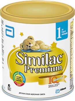 Сухая молочная смесь Similac Premium 1, 900 г Similac