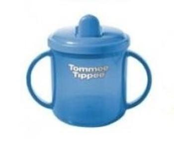 Первая чашка Tommee Tippee, 150 мл, голубая (17399) Tommee Tippee