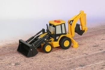Игрушечный транспорт, Экскаватор с ковшом CAT, 23 см  - купить со скидкой