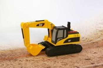Купить Игрушечный транспорт, Экскаватор гусеничный CAT, 23 см