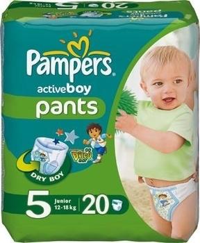 efff716bf158 Подгузники-трусики Pampers Active Boy Junior 5 (12-18 кг) 20 шт ...