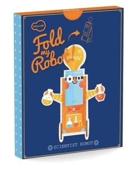"""3D-конструктор Krooom """"Робот-Ученый"""" Other"""