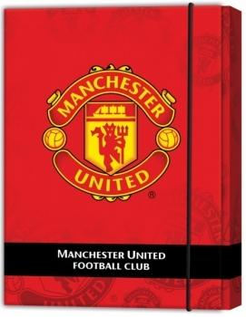Папка для тетрадей Kite Manchester United В5 на резинке Kite
