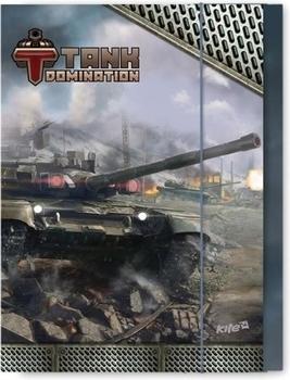 Папка для тетрадей Kite Tanks В5 на резинке Kite
