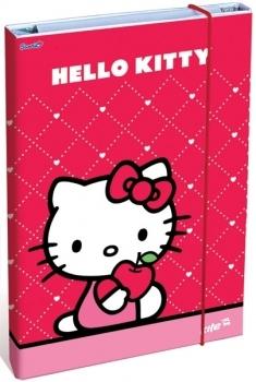 Папка для труда Kite Hello Kitty А4 на резинке Kite