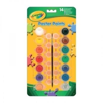 Краски темпера Crayola, 14 баночек Crayola