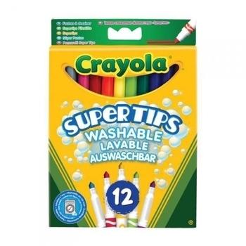 Фломастеры Crayola тонкие, 12 штук Crayola
