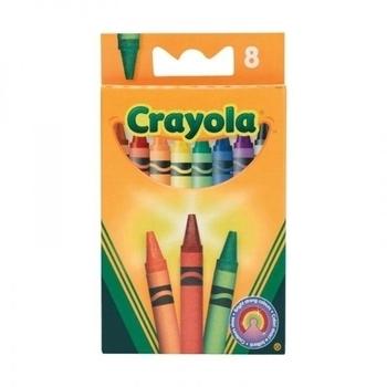 Восковые мелки Crayola, 8 шт. 0008 Crayola