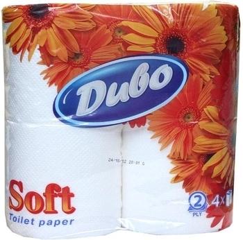 Двухслойная туалетная бумага Диво Soft, 4 рулона Диво