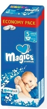 Подгузники Magics Premium Junior 5 (12-25 кг ) 54 шт.