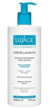 Очищающий пенящийся крем Лаванте Uriage, 500 мл Uriage