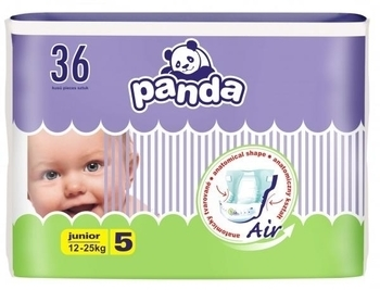 Подгузники Panda junior 5 (12-25 кг) 36 шт. Panda