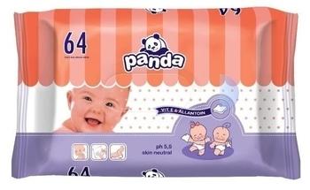 Влажные салфетки Panda, 64 шт. Panda