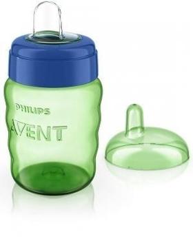 Чашка с мягким носиком Philips Avent SCF553/00, от 12 месяцев, синяя, 260 мл (SCF553/00) Philips AVENT