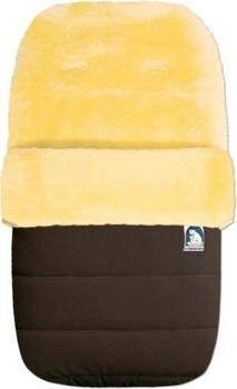 Купить:  Конверт Heitmann Felle на овчине, коричневый (968MO) Heitmann Felle