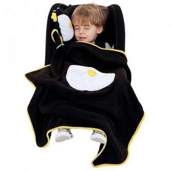 Плед с подушкой Trunki Snoozihedz Penguin Pippin - Pampik