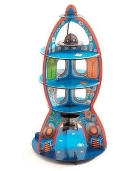 Купить:  3D-конструктор Djeco Космический корабль, 15 элементов Djeco