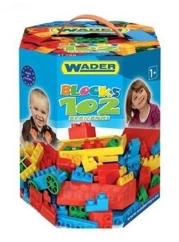 Купить:  Конструктор Wader, 102 элемента Wader