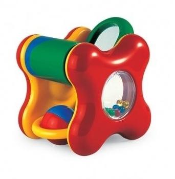 Развивающая игрушка Tolo Куб с погремушкой Tolo