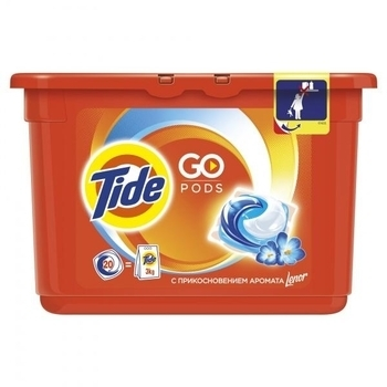 Капсулы для стирки Tide Touch of Lenor Fresh, 20х25.2г
