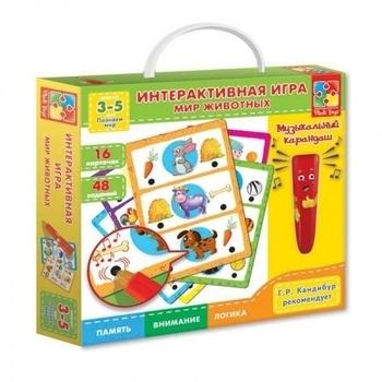 Купить:  Интерактивная игра Vladi Toys Мир Животных (VT1600-01) (рус.) Vladi Toys