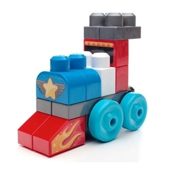 Конструктор Mega Bloks First Builders Веселые машинки
