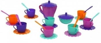 Набор посуды Tigres Ромашка, в сумке, 28 элементов (39129-1) Tigres