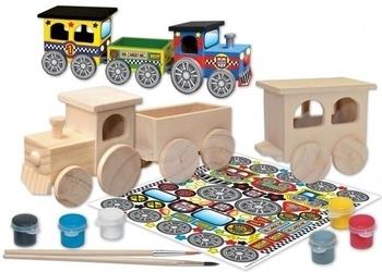 Набор для творчества Masterpieces Поезд Masterpieces