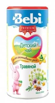Чай Bebi Premium травяной в гранулах, 200 г Bebi