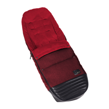 Чехол для ног Cybex Priam Footmuff Hot & Spicy Denim, красный - Pampik