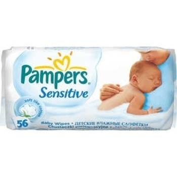 Влажные салфетки Pampers Sensitive, 56 шт. Pampers