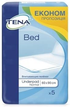 Гигиенические пеленки Tena Bed Normal 60x90cm, 5 шт. Tena