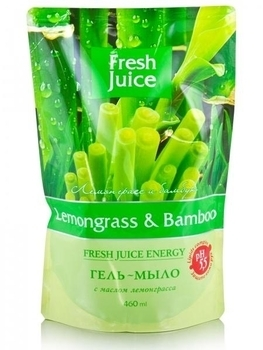 Гель-мыло Fresh Juice Lemongrass & Bamboo, 460 мл