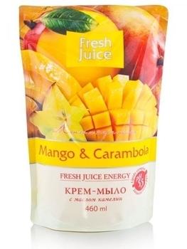 Крем-мыло Fresh Juice Mango&Carambola, 460мл Fresh Juice
