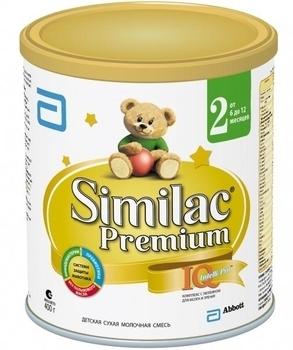 Сухая молочная смесь Similac Премиум 2, 400 г Similac